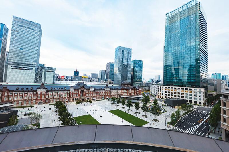 東京駅丸の内口の全景