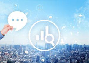 都市を取り巻く情報網